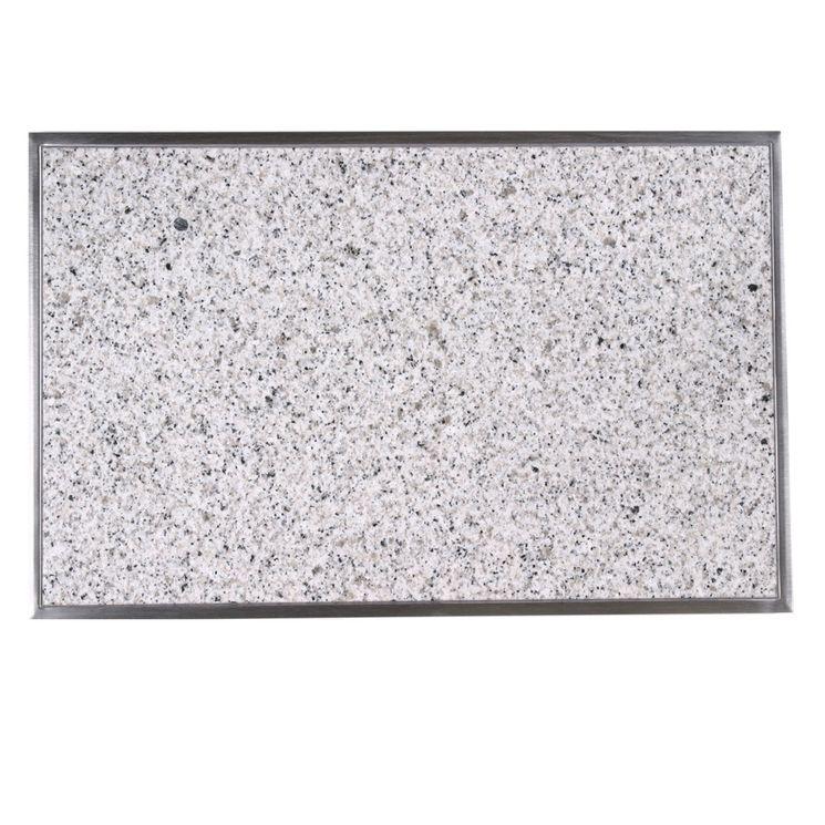 Planche à découper intégrée en granit Bianco cristall CACGT002