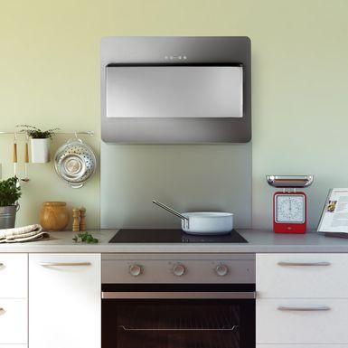 fond de hotte en inox cr dence de cuisine hauteur 45. Black Bedroom Furniture Sets. Home Design Ideas