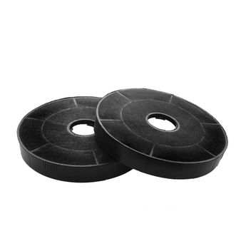 Lot de 2 filtres à charbon pour hotte Silverline CHACC035