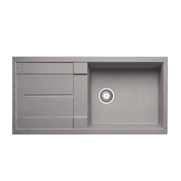 Evier granit alumetallic BLANCO METRA XL 6 S 1 grand bac