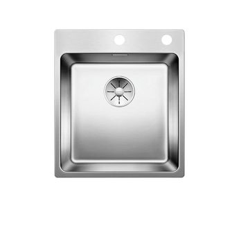 Evier inox satiné BLANCO ANDANO 400-IF/A 1 bac