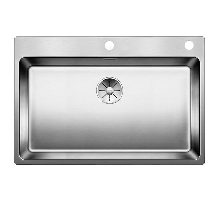 Evier inox satiné  BLANCO ANDANO 700-IF/A 1 grand bac