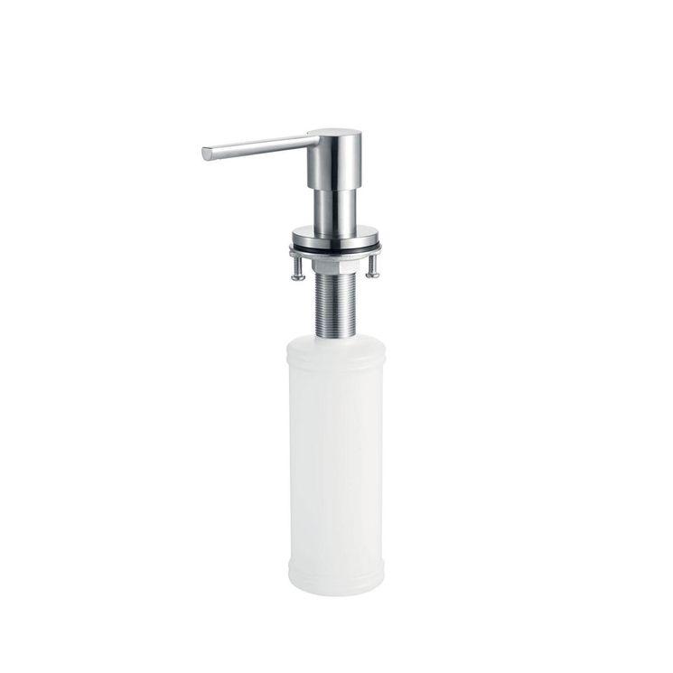 Distributeur de savon bec arrondi en inox massif