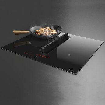 Plaque de cuisson avec hotte intégrée Elica NIKOLATESLA FIT  70cm - Évacuation