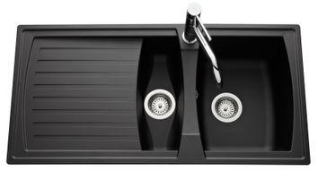 vier 1 bac 1 2 large choix d 39 viers un bac et demi pour la cuisine. Black Bedroom Furniture Sets. Home Design Ideas