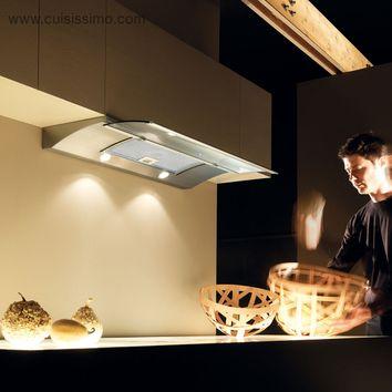 hotte cuisine elica encastrable glide 90 cm cuisissimo. Black Bedroom Furniture Sets. Home Design Ideas